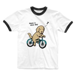 bicycle 2 Ringer T-Shirt
