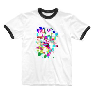 歩く魚2 Ringer T-Shirt