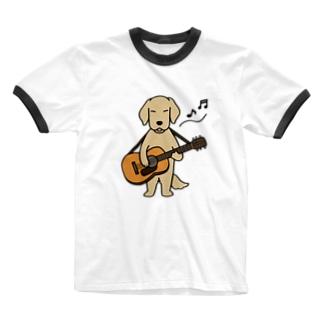 guitar Ringer T-shirts