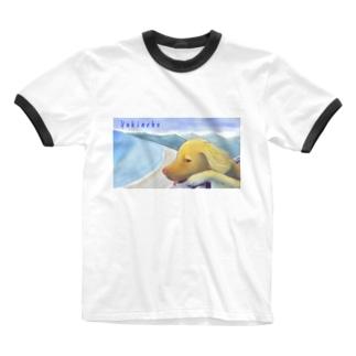 避暑地 Ringer T-shirts