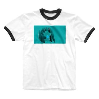 なつあつい Ringer T-shirts