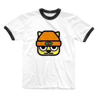 パ紋No.3272 花 Ringer T-shirts