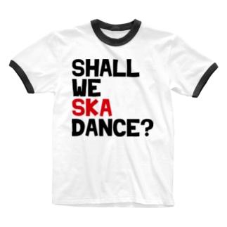 フェスT Ringer T-shirts