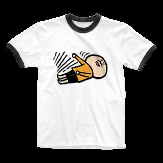 k.m.p.雑貨・SUZURI支店の気絶する。 Ringer T-shirts
