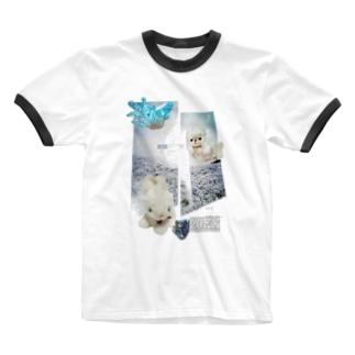 無の世界 Ringer T-shirts