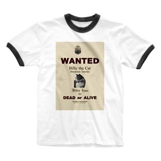 ウォンテッド:手配ポスター WANTED: Poster Ringer T-shirts