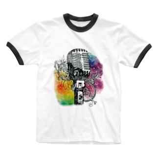 ジェネステ(ロゴ無し) Ringer T-shirts