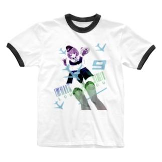 LCC おもてなし航空 客室乗務員 Ringer T-shirts