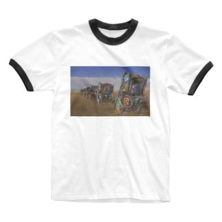 Cadillac Ranch Ringer T-shirts