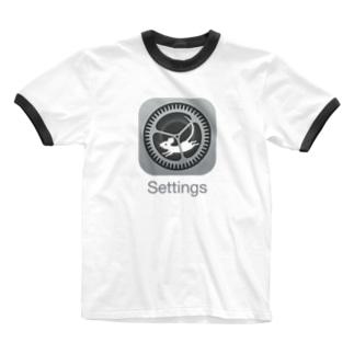 歯車とハツカネズミ Ringer T-Shirt