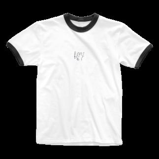 こなモンのフーン きどく虫か Ringer T-shirts