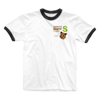 HAMUO ORIGINAL Sシリーズ Ringer T-shirts