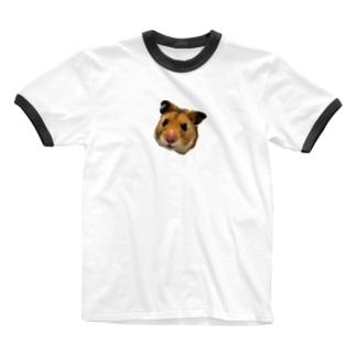 HAMUO ORIGINAL A シリーズ Ringer T-shirts