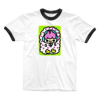 ソラソラとひよこ Ringer T-shirts