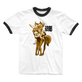 TABERARECHAU Ringer T-shirts