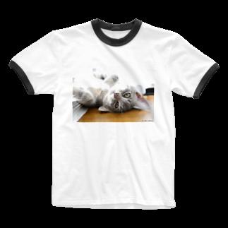 Aiko Nakanoのcat_201805_2869' Ringer T-shirts