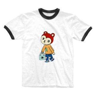 CHIPPERくん(ちっぱー) Ringer T-shirts