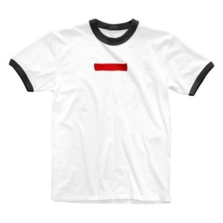 アレ Ringer T-shirts