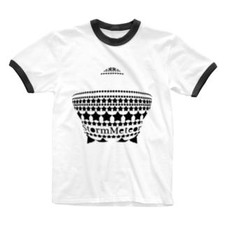 見栄っ張りな星 Ringer T-shirts