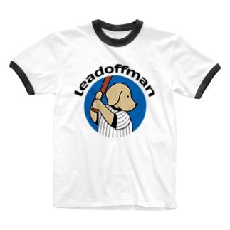 リードオフマン 2 Ringer T-shirts