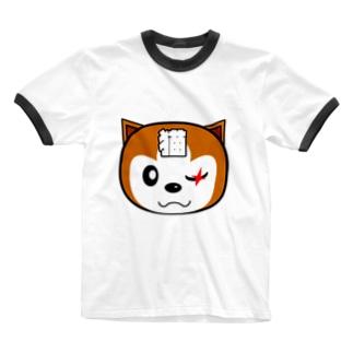 チャタローBタイプ Ringer T-shirts