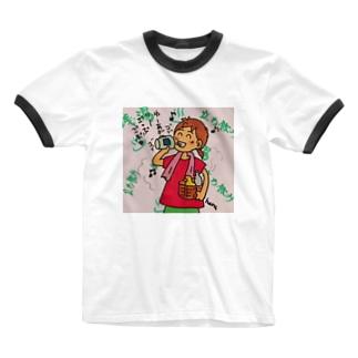 湯上りの後はやはり Ringer T-shirts