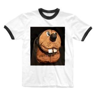 ヤシの実くん Ringer T-shirts
