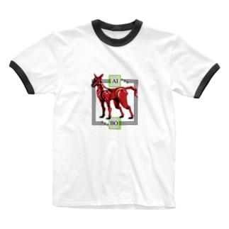 AIBO 其の壱 Ringer T-shirts