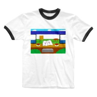 夏の思い出 Ringer T-shirts