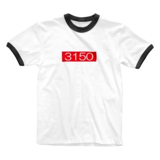3150 サイコー! Ringer T-shirts