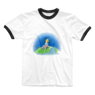 夢を見たよ! Ringer T-shirts