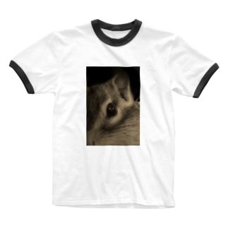 WINDUP ティッチ モノクロ Ringer T-shirts