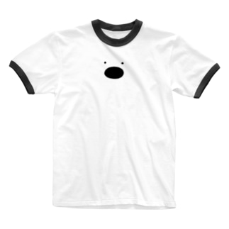 ぶらっくほーるくん Ringer T-shirts