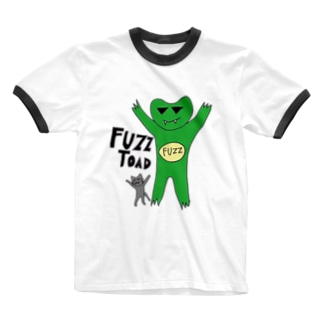 fuzzガエル2014 Ringer T-shirts