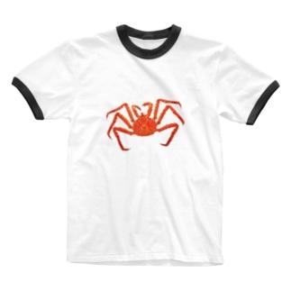 かにアイテム Ringer T-shirts