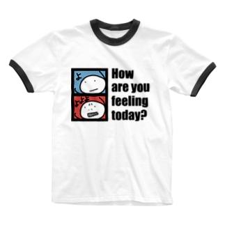 よよよ(淡色用) Ringer T-shirts