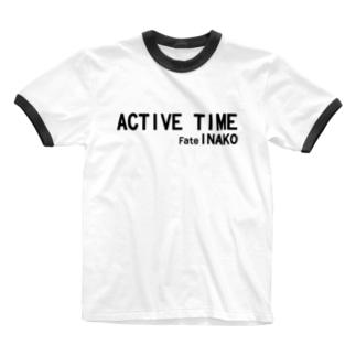 こうちゃん復刻 Active Time  Ringer T-shirts