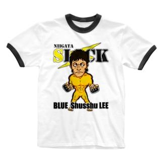 ブルーシュシュリー Ringer T-shirts