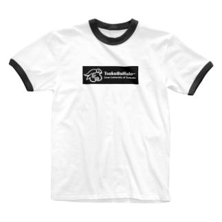 つくばっふぁロゴ Ringer T-shirts