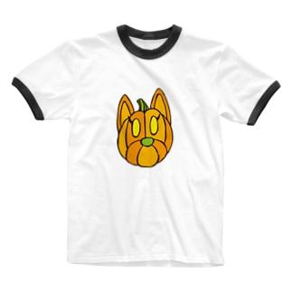 クッキーパンプキン Ringer T-shirts