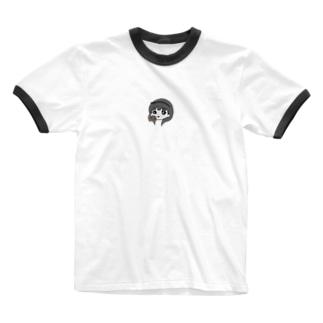胎盤マン アイコン Ringer T-shirts