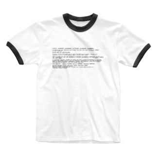 BSOD(Blue Screen of Death) Ringer T-shirts