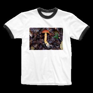 Aiko Nakanoのジコボウ_ハナイグチ_20181015_0121 Ringer T-shirts