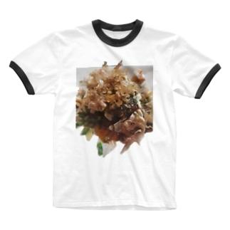 OKONOMIYAKI Ringer T-shirts