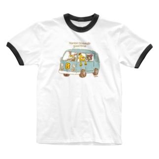 nobinobi nonbiri goodtime Ringer T-shirts