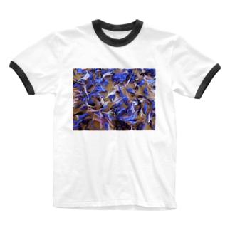 天使の羽 ひらひら  2 Ringer T-shirts