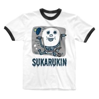 "SUKARUKIN ""バイキング・ハイ"" Ringer T-Shirt"