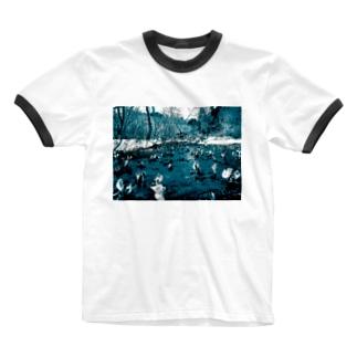 尾瀬 Ringer T-shirts