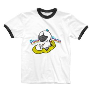 パクツクさん、カラー。 Ringer T-shirts