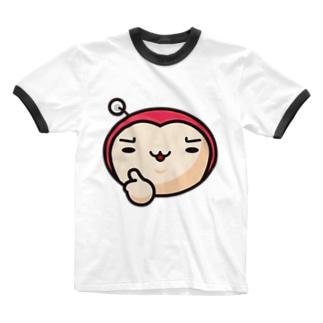 ピンクせいじん good!! Ringer T-shirts